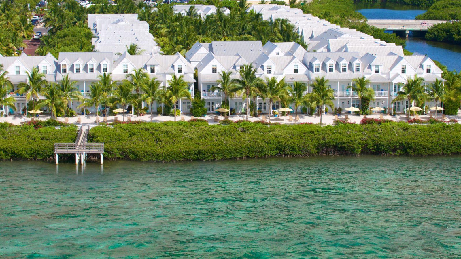 Parrot Key Hotel  Resort Waterfront Hotel  Villas In Key West - Map florida keys hotels
