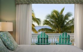 Waterfront Suite Balcony at our Key West Resort